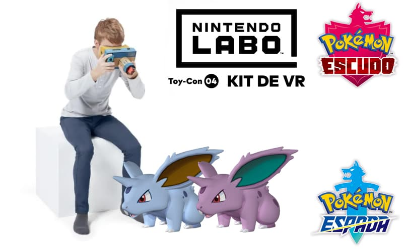 ¿Kit de VR compatible con Pokémon?
