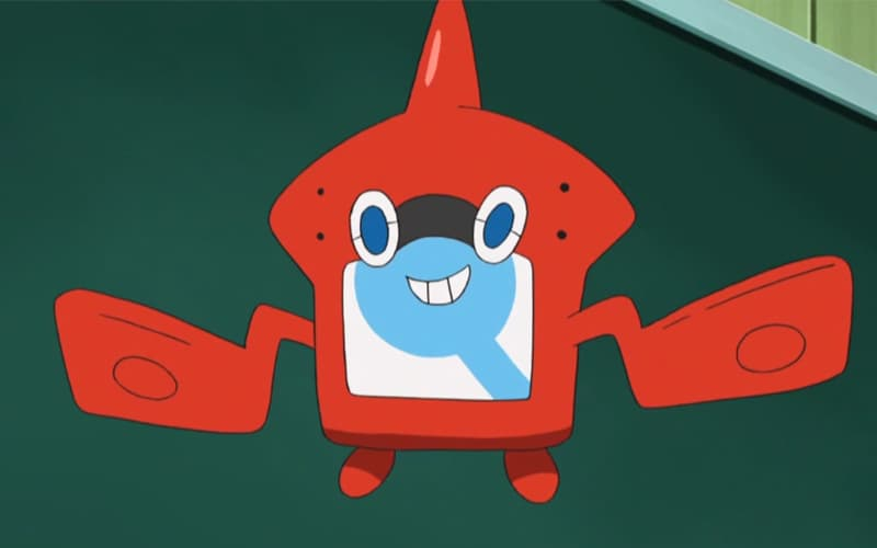 Rotom introducido en la pokédex