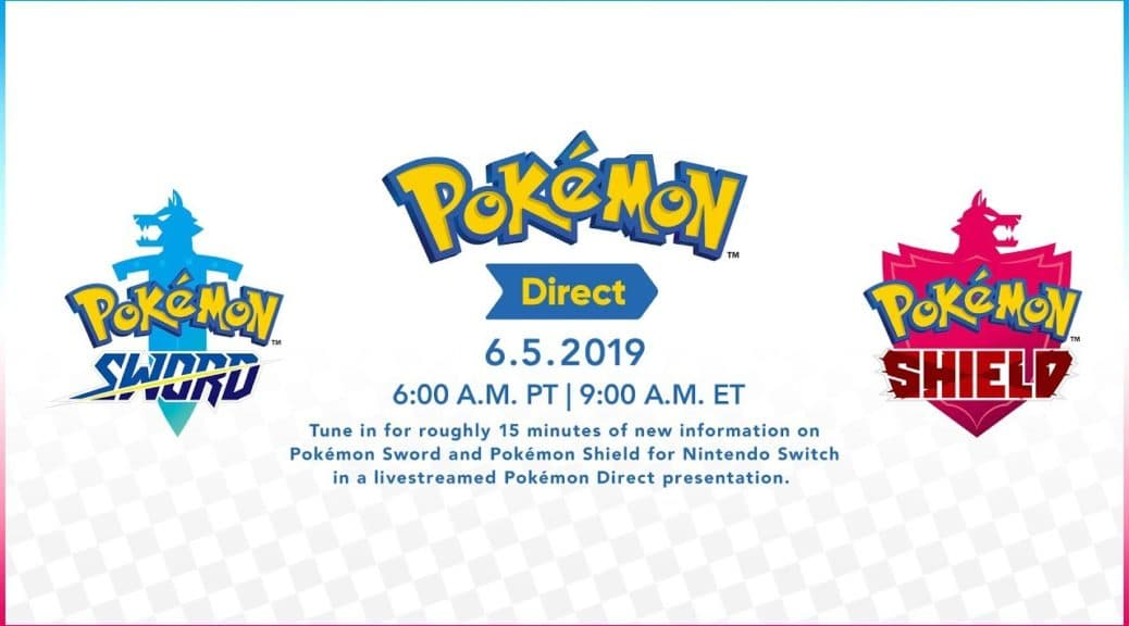 Pokémon Direct el 5 de junio de 2019